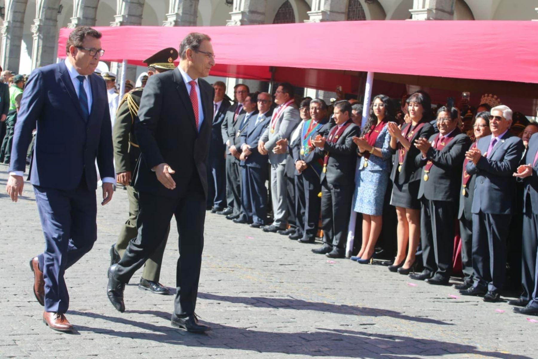Vizcarra pide al Congreso acelerar denuncia para cambios en MP