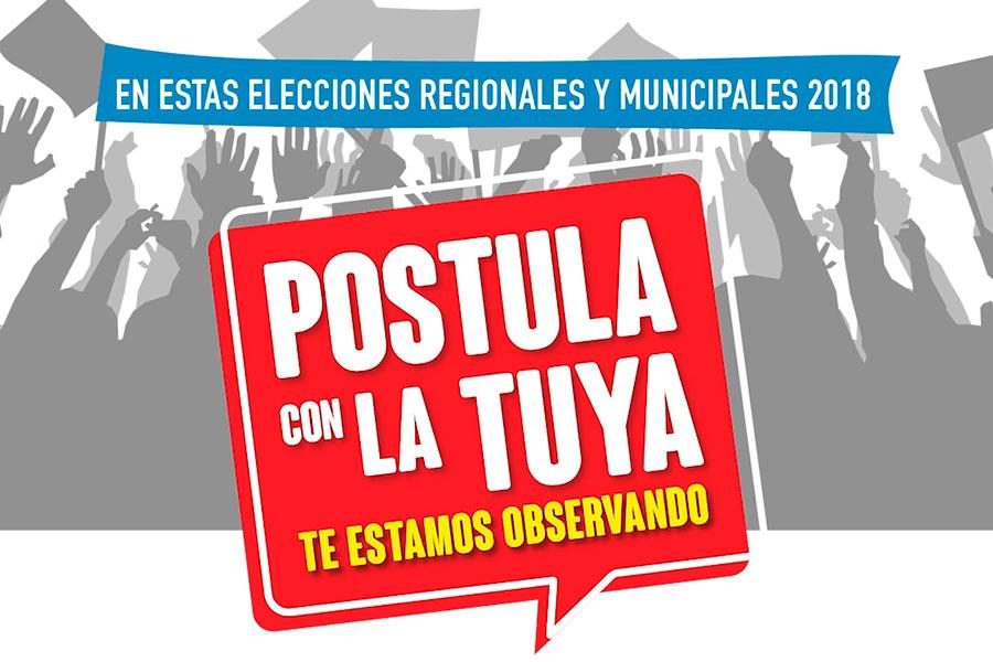 Postula con la tuya: conoce cómo registrar tu alerta ciudadana electoral