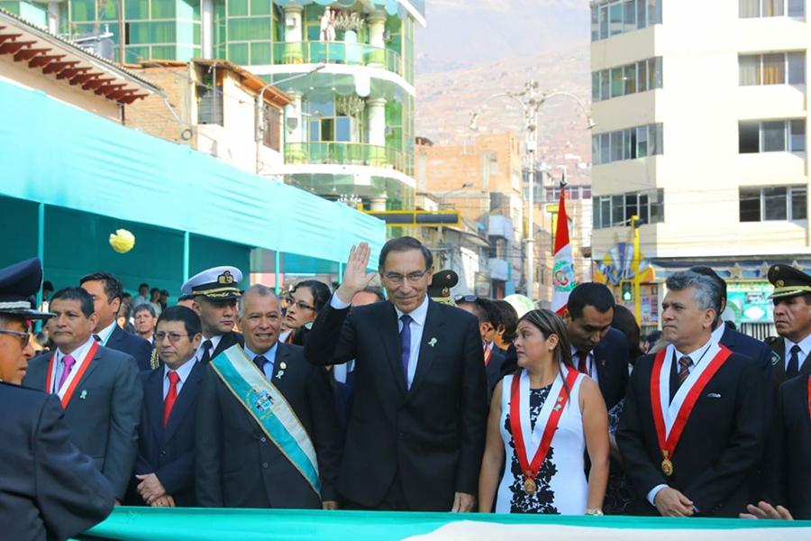 Vizcarra: Si eliminamos corrupción podemos lograr desarrollo