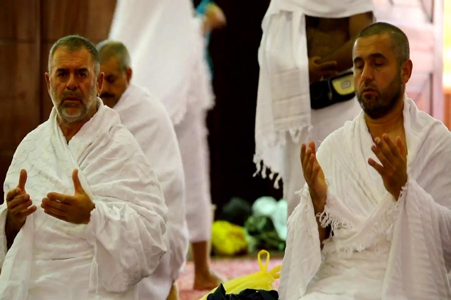 Peregrinos musulmanes llegan a La Meca para el hach