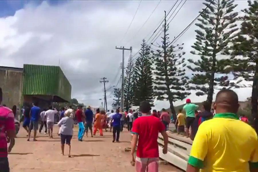 Tensión migratoria en Brasil por la situación en Venezuela