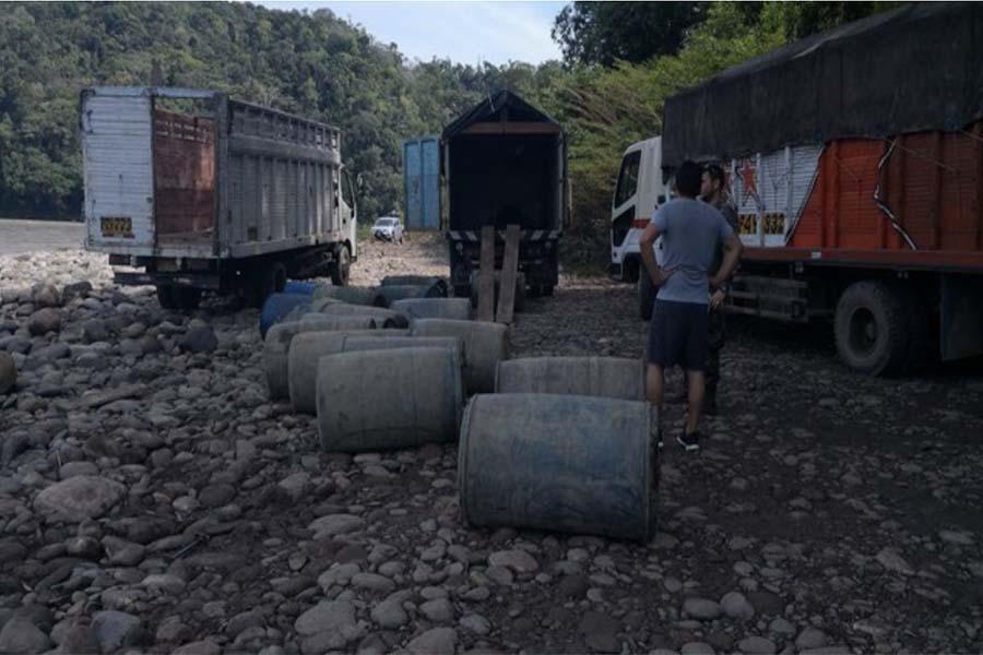Madre de Dios: incautan combustible para minería ilegal