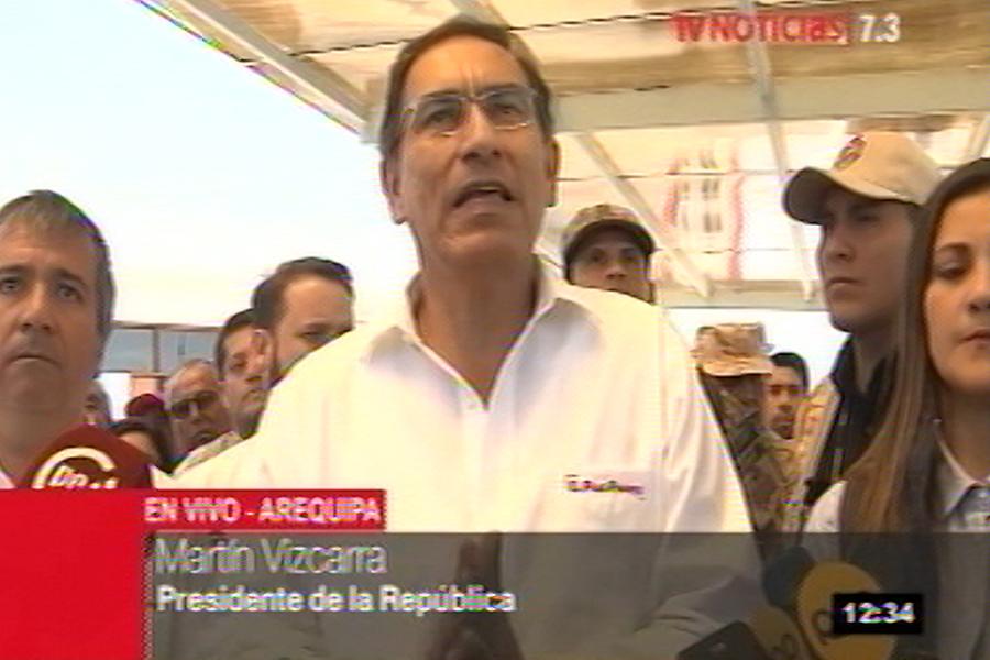 Vizcarra: Confianza del Congreso sobre la reforma es un compromiso con los peruanos