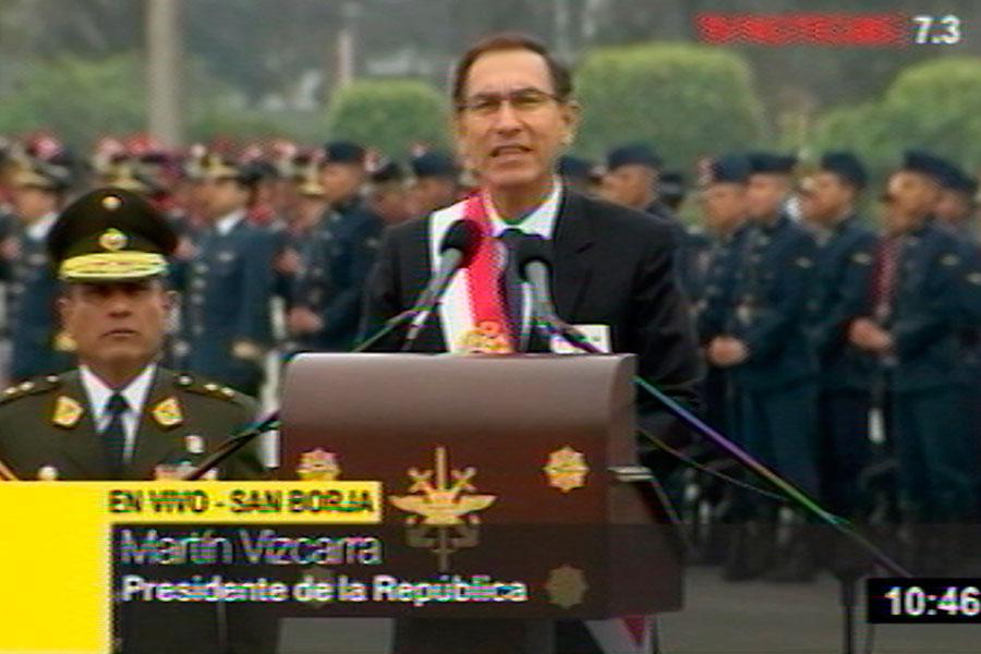 Vizcarra: el gobierno no cederá un milímetro en lucha contra terrorismo