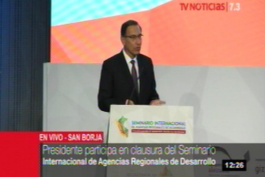Vizcarra: Presupuesto del 2019 será más descentralizado