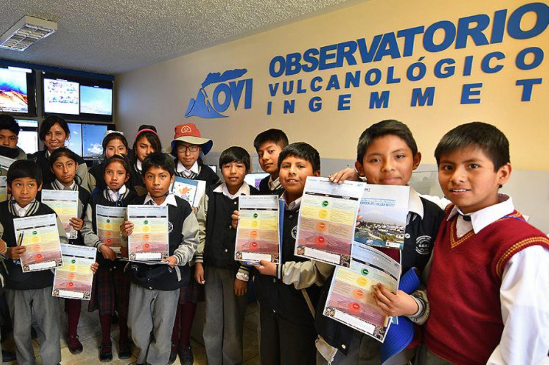 Arequipa: mapa interactivo del Misti da a conocer zonas de peligro volcánico