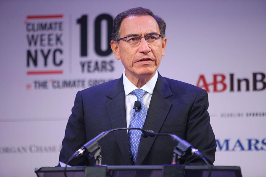 Presidente Vizcarra: Cuidado del medio ambiente es una política de Estado