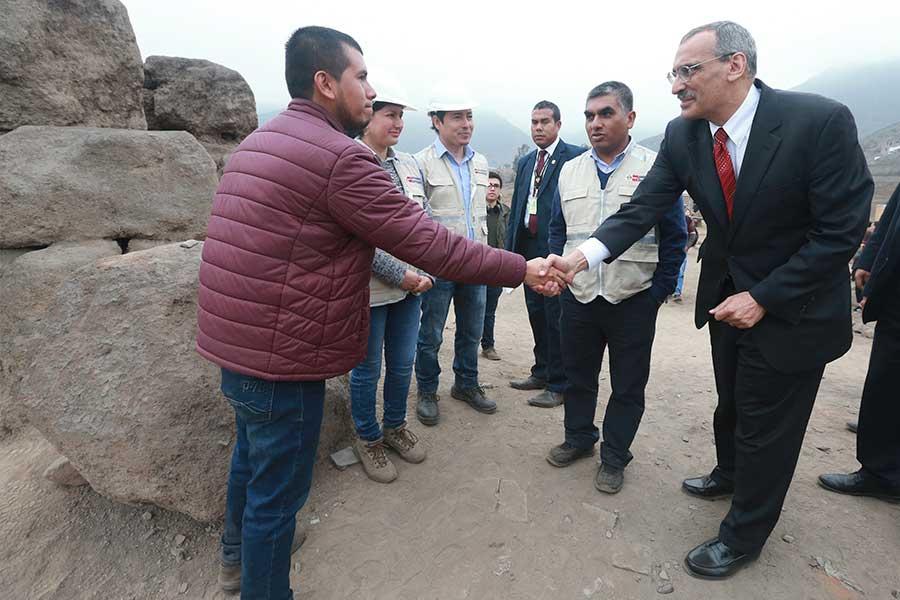 Estados Unidos financia puesta en valor de Huaca Mangomarca