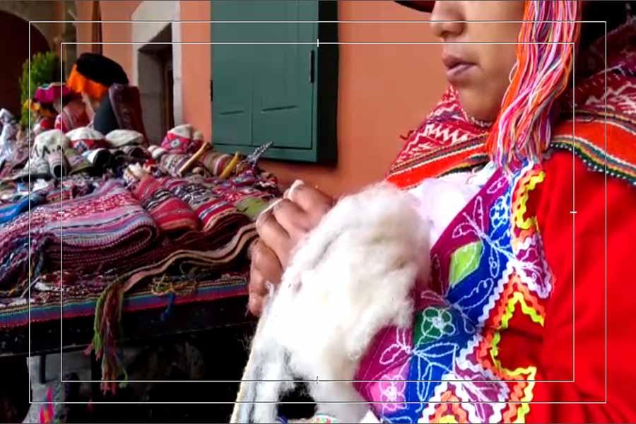 Cusco: tejedoras aplican arte ancestral y son la sensación