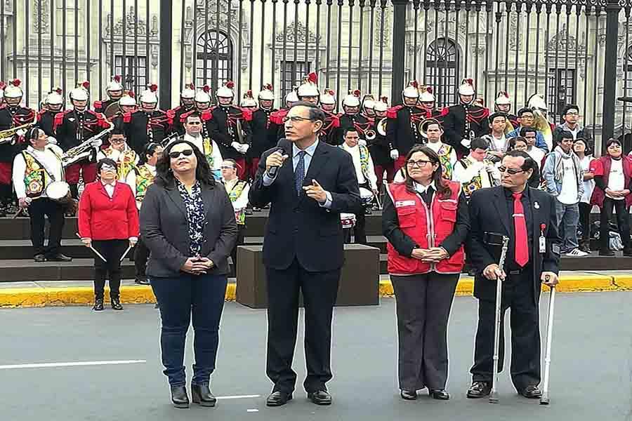 Presidente Vizcarra aboga por un Perú inclusivo para alcanzar el desarrollo