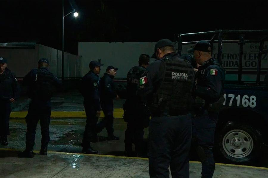 México desplegó policías antidisturbios a la frontera con Guatemala