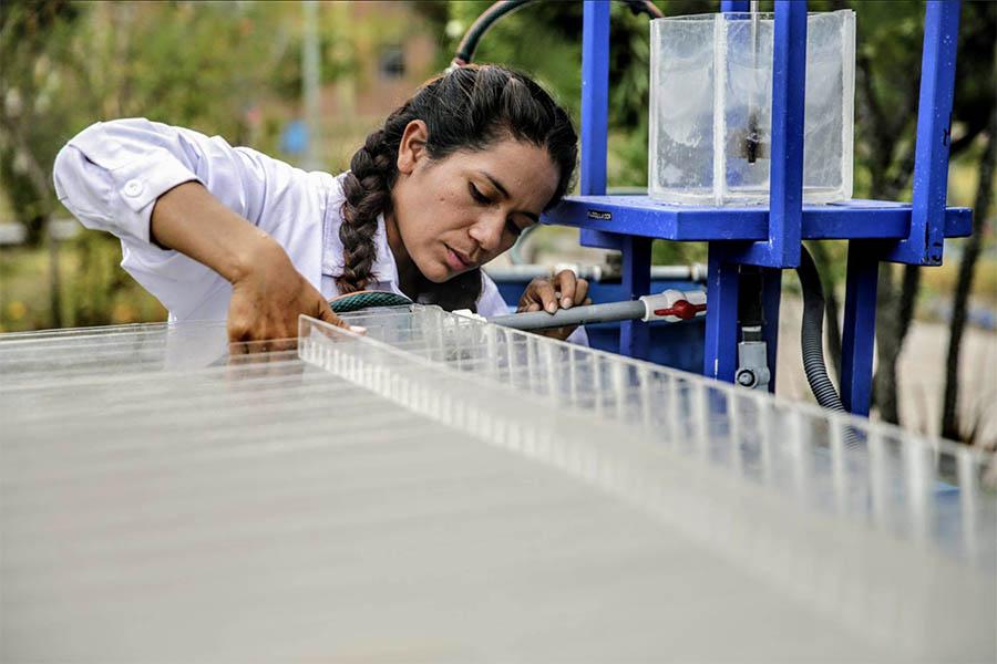 Nazia Loayza: la ingeniera peruana que inventó prototipo para purificar el agua