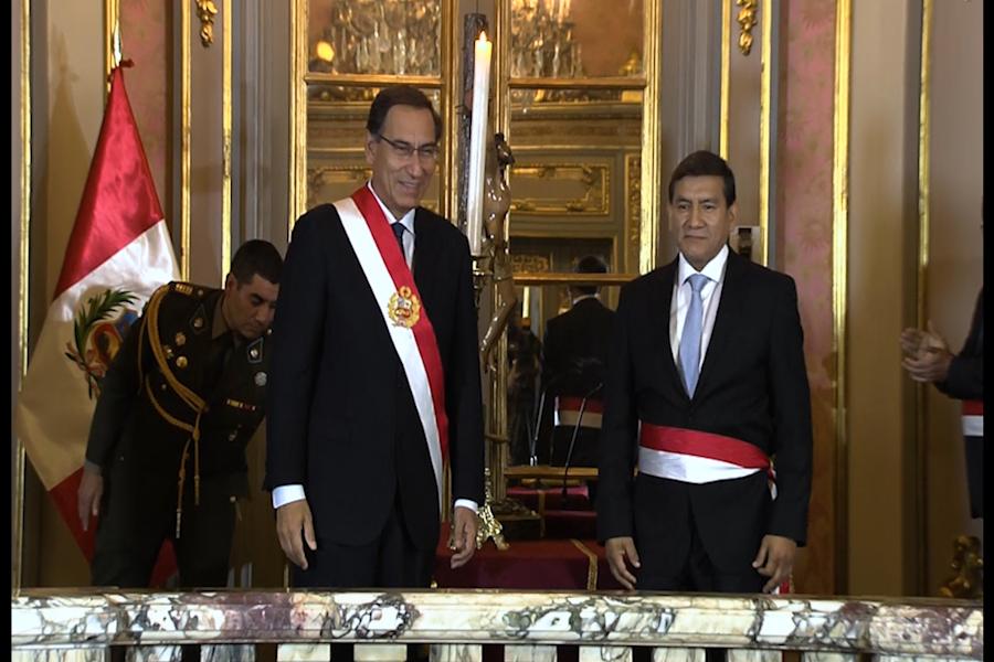 Carlos Morán juró como nuevo ministro del Interior