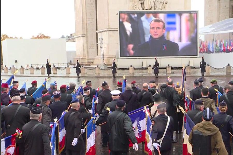 Rechazo al nacionalismo en centenario del fin de la Primera Guerra Mundial