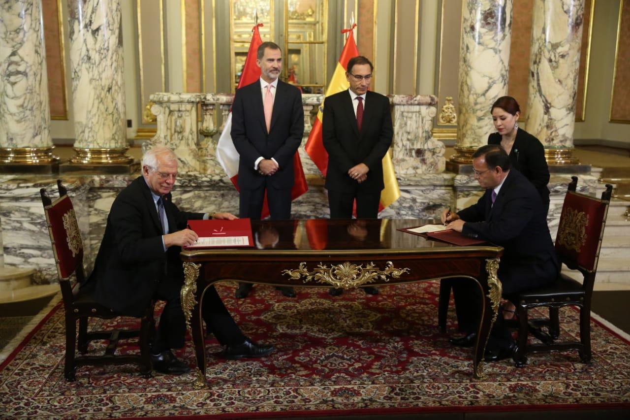 Perú y España comparten deseo de continuar potenciado relaciones