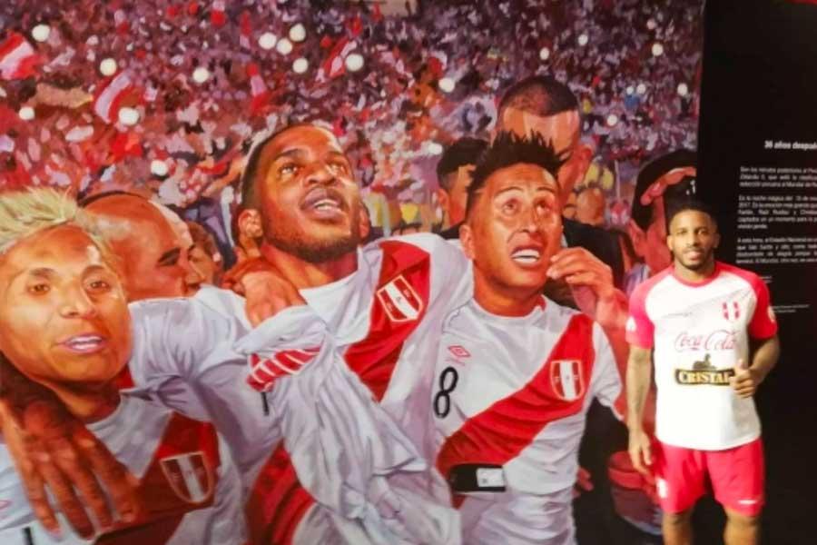 Estadio Nacional presentó mural en homenaje a la Selección Peruana