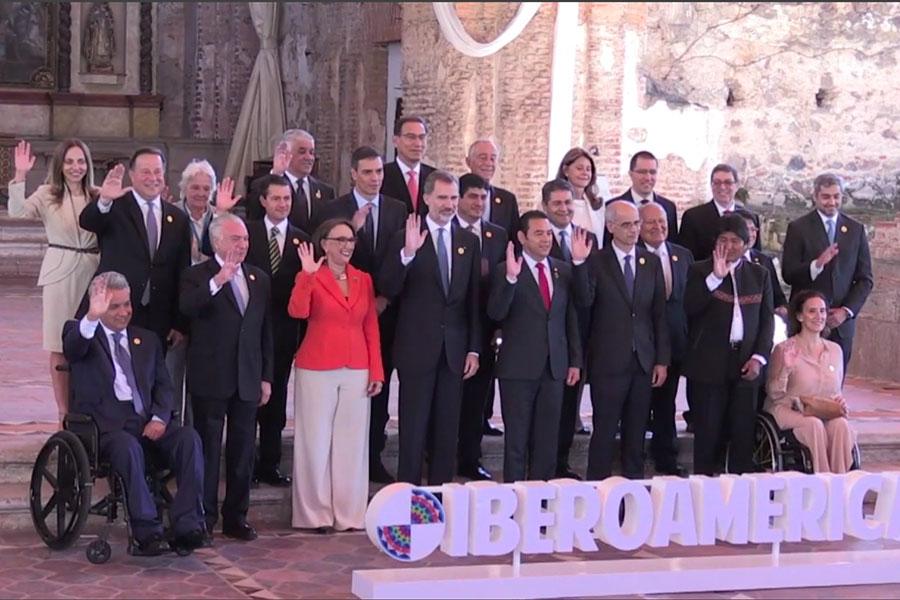 Comenzó la XXVI Cumbre Iberoamericana