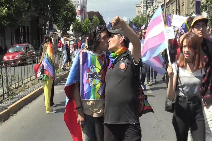 Miles piden matrimonio gay y adopción homoparental en Chile