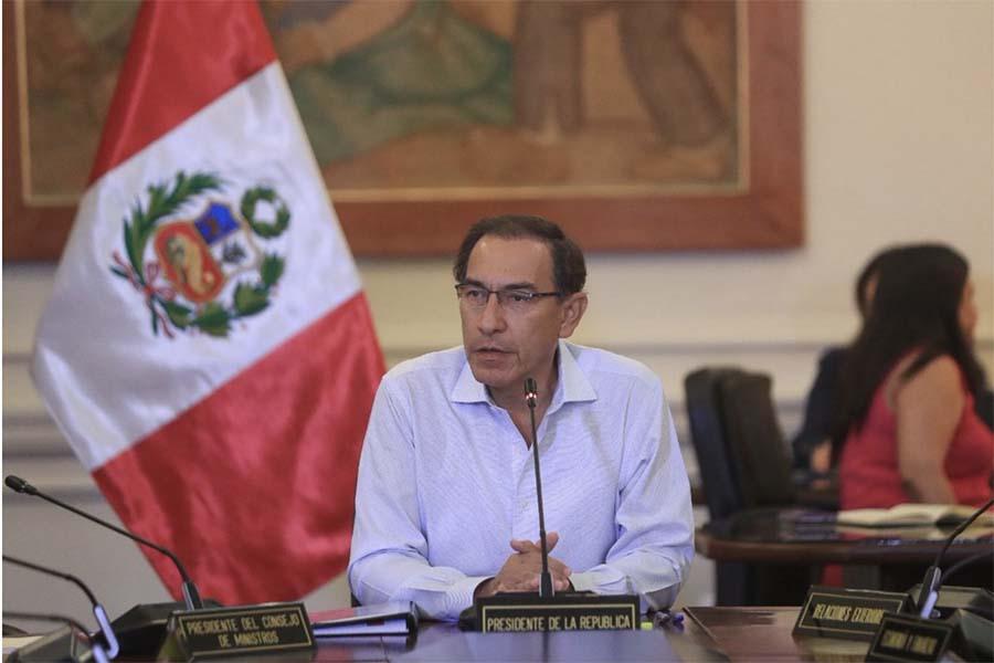 Referéndum 2018: declaraciones del presidente Vizcarra tras resultados a boca de urna