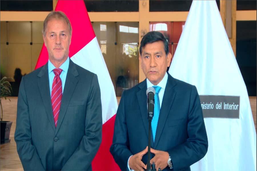 Ministro del Interior y alcalde electo de Lima coordinan estrategias