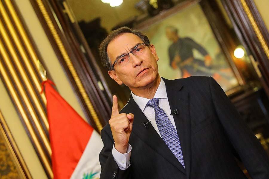 Vizcarra insta al Congreso a abordar con celeridad proyectos de reforma judicial