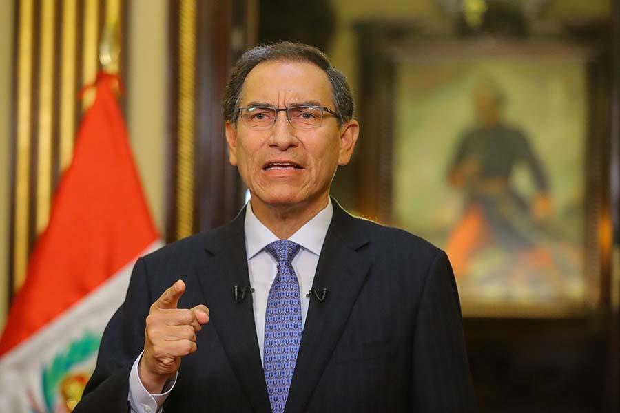 Vizcarra anuncia creación de Comisión de Alto Nivel de Reforma Política