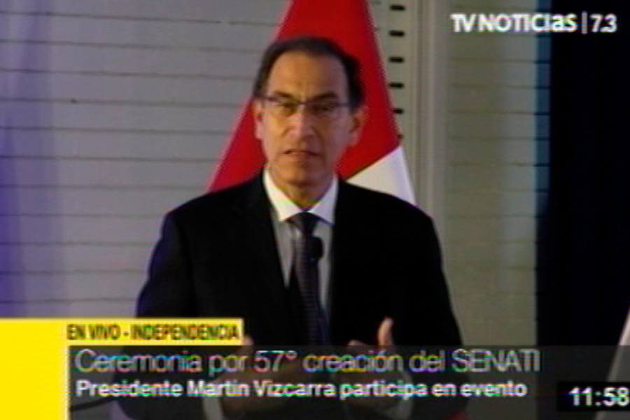 Presidente Vizcarra: el éxito del país se debe basar en consensos