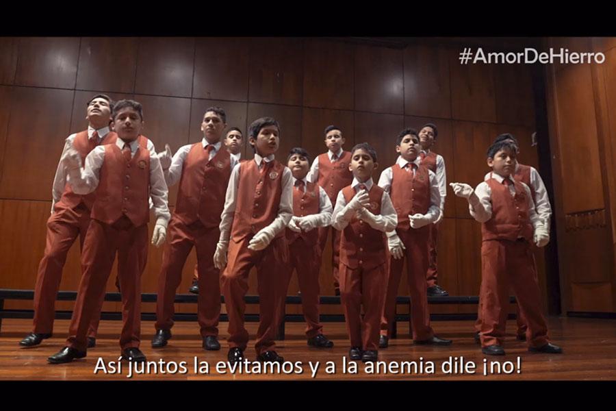 """""""Los Toribianitos"""" estrenan villancico contra la anemia"""