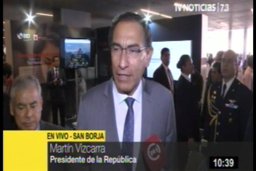 Vizcarra respalda permanencia de fiscales a cargo del caso Lava Jato