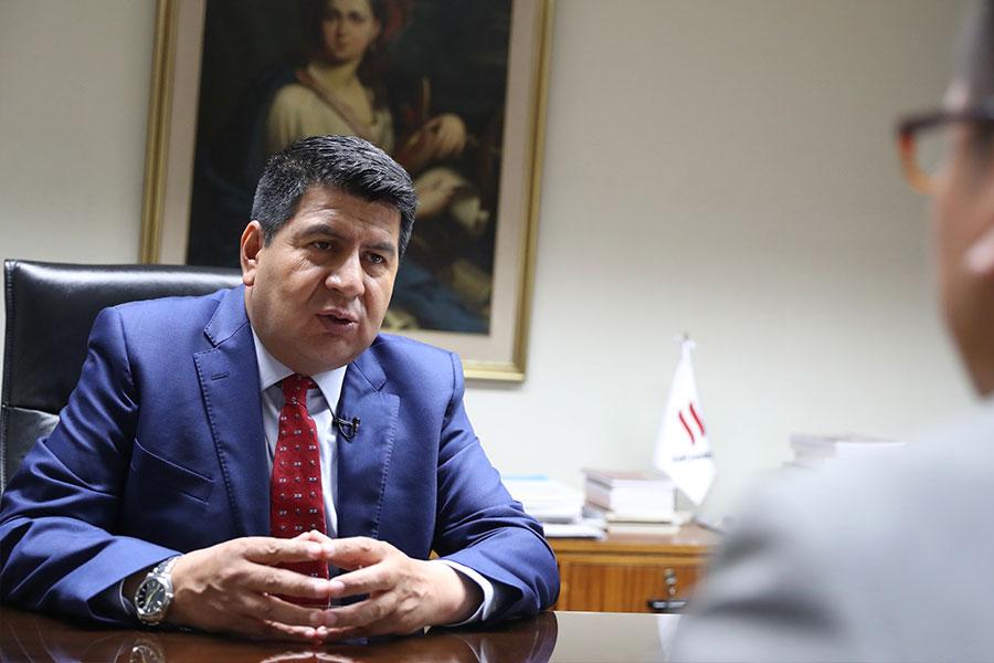 Maciste Díaz confirma postulación a la ANGR y propone unidad para articular con Ejecutivo