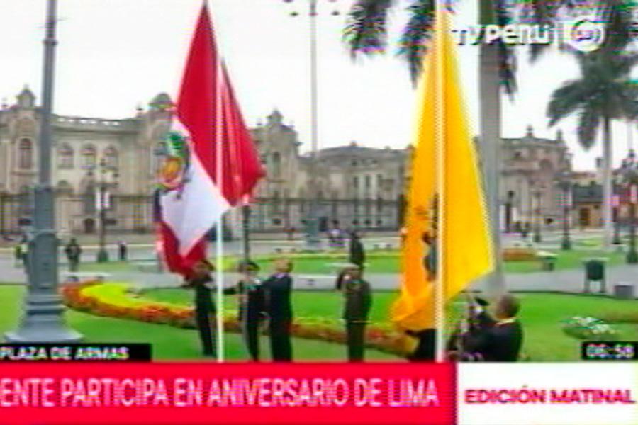 Comenzaron las actividades por el 484 aniversario de Lima