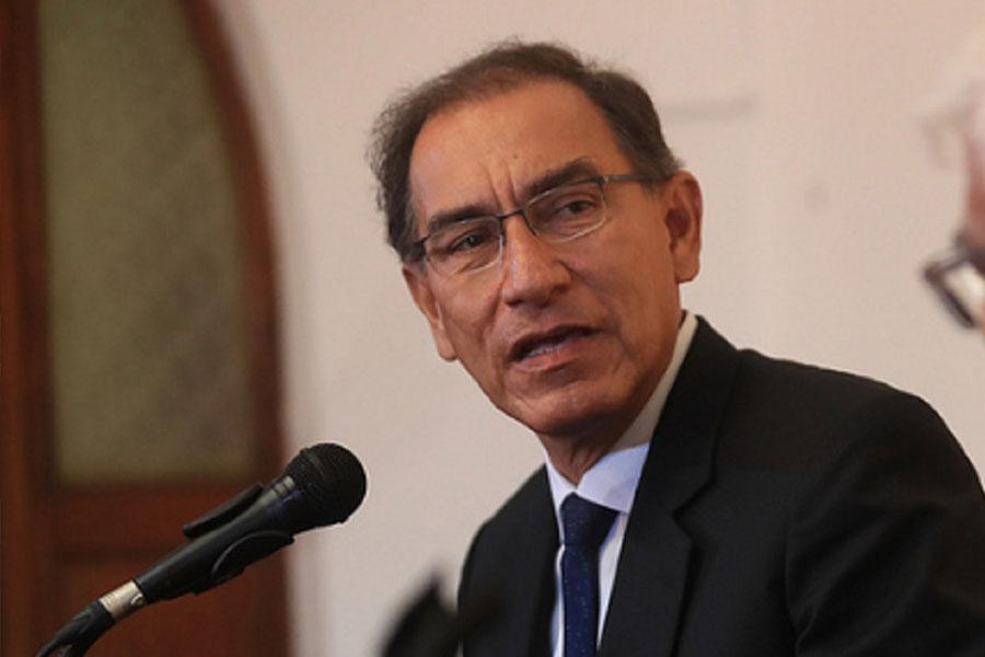Presidente Vizcarra deplora prisión preventiva contra policía en Piura