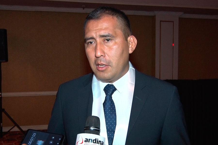 Gobernador regional de Áncash espera que se amplíe presupuesto para proyecto Chinecas