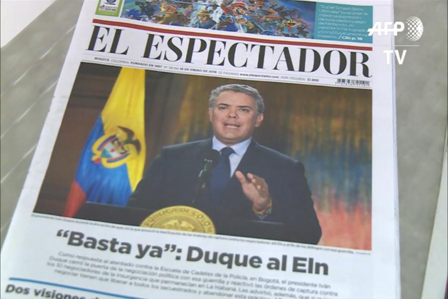 """Colombia insiste a Cuba en que le entregue """"criminales del ELN"""""""