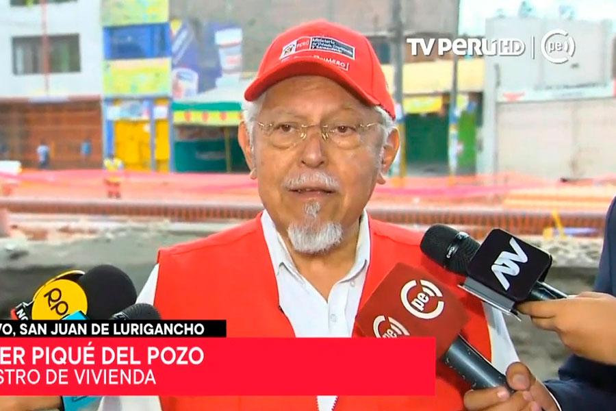 Bono de 1,000 soles para familias afectadas por aniego en San Juan de Lurigancho