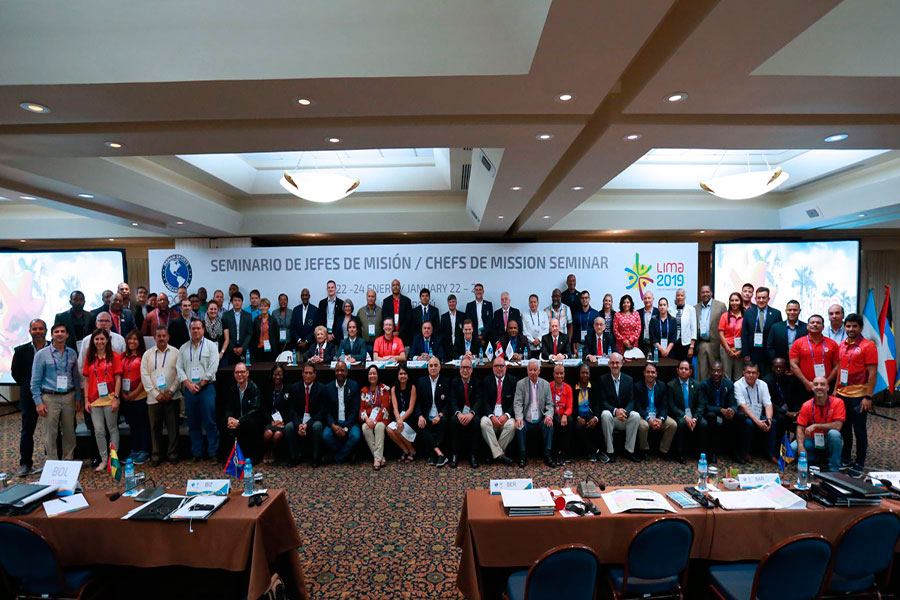 Lima 2019: delegaciones extranjeras destacan avances de organización