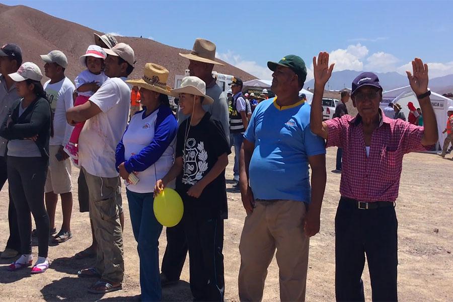 Tacna: damnificados de Mirave participaron en jornada cívica del Ejército