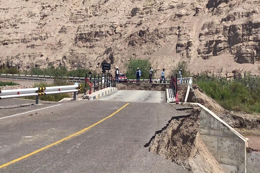 Tacna: tres puentes inhabilitados por desbordes