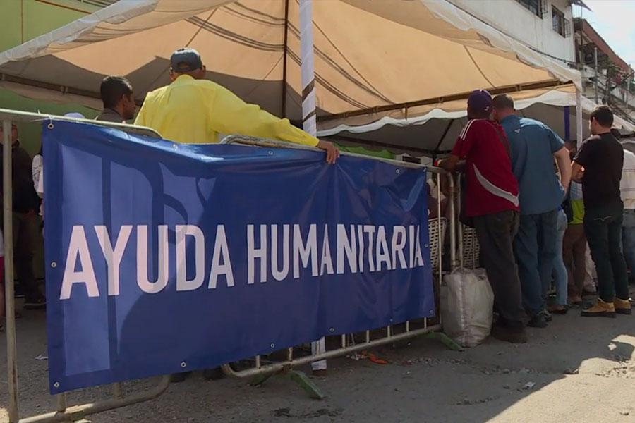 Voluntarios se preparan para ingreso de ayuda a Venezuela