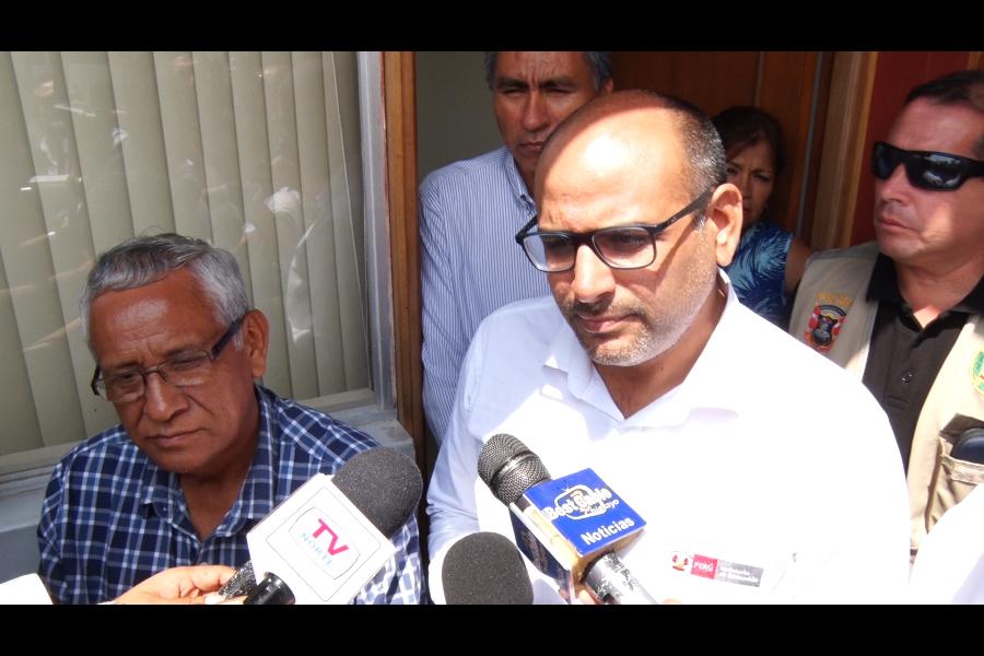 Lambayeque: ministro de Educación coordina plan de contingencia ante lluvias