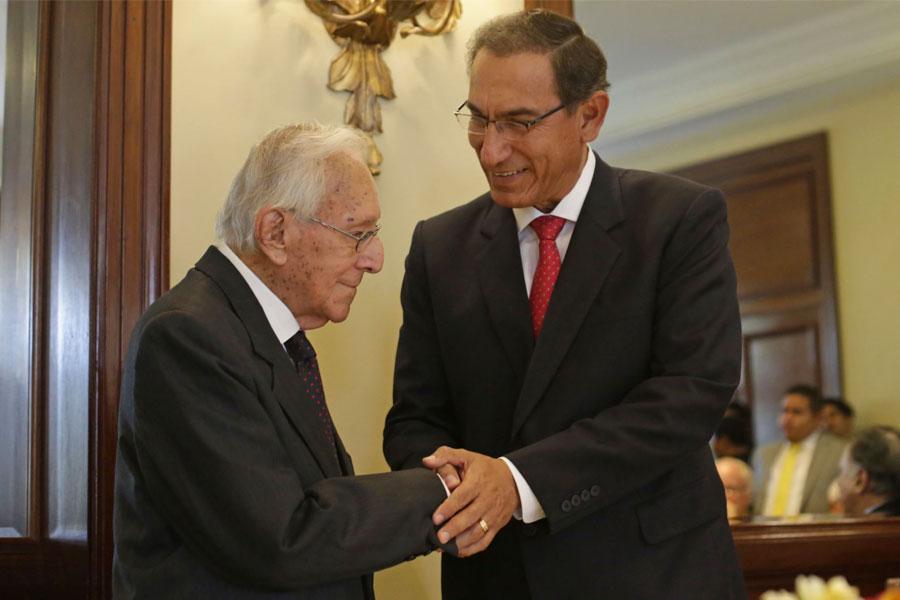 Presidente: legado de Bedoya es ejemplo de decencia y honestidad