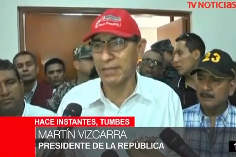 Ampliarán emergencia en zonas ribereñas a ríos Tumbes y Zarumilla