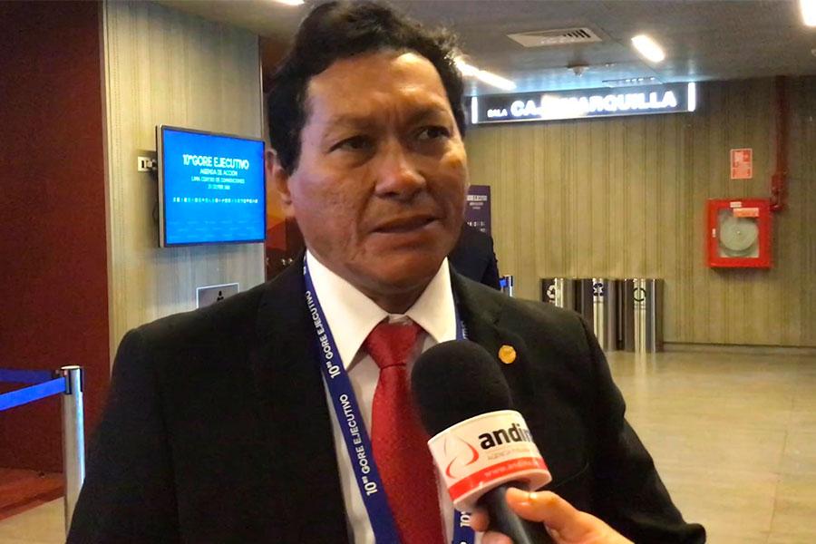 Loreto gestiona mejora del sistema de agua y alcantarillado en Iquitos
