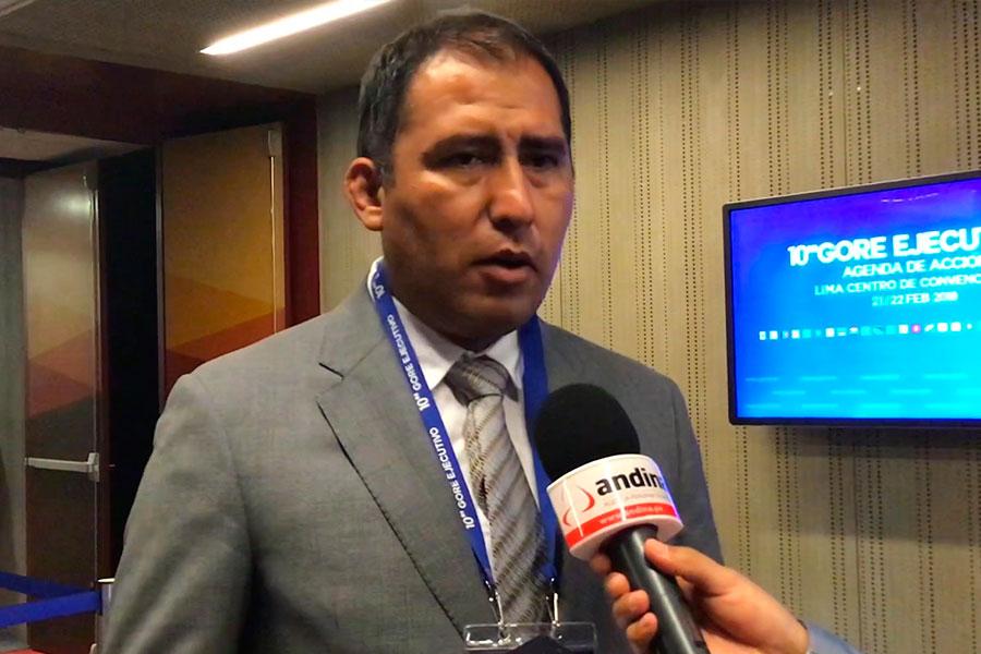 Proyecto Chinecas se ejecutará en 3 etapas, asegura gobernador Morillo