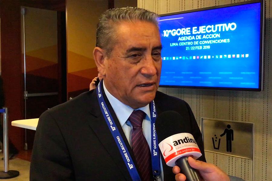 Gore ejecutivo: Amazonas plantea proyectos viales para desarrollo económico