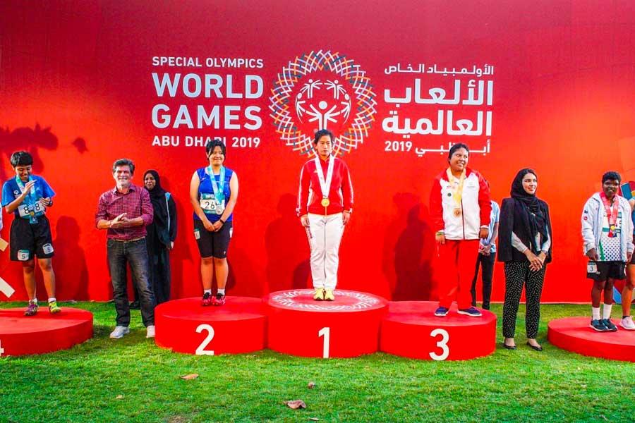 Olimpiadas Especiales 2019: oro y bronce para Perú en atletismo