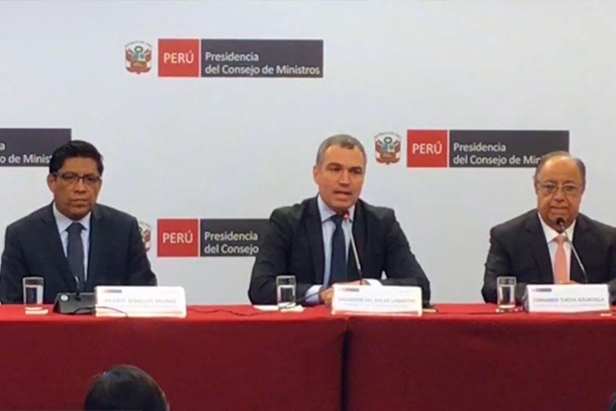 Del Solar: propuesta de reforma política es ambiciosa e integral