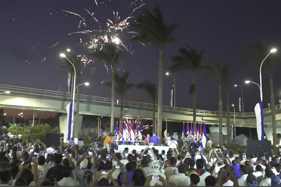 Ortega aboga por la paz en Nicaragua