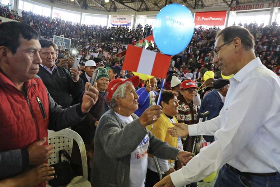 Vizcarra: asumimos compromisos concretos en beneficio de la población