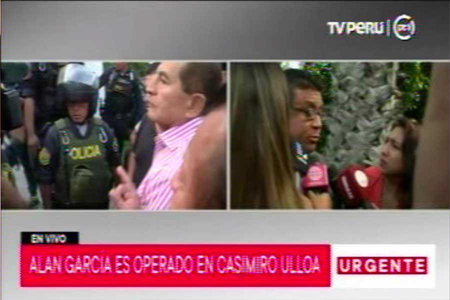 Alan García: abogado confirma que expresidente se disparó
